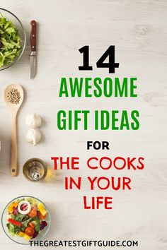 14 Best Gifts For People Who Like To Cook