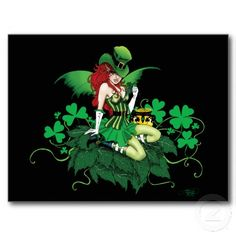 What do you know about Leprechauns? Here's a page full of fun facts about this Irish creature. Pictured is a Luck of the Irish Postcard from Zazzle.