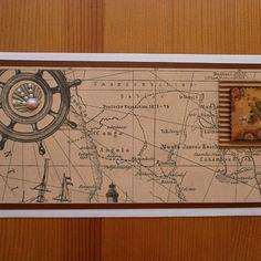 Dárková obálka pro cestovatele Vintage World Maps, Decor, Decoration, Decorating, Deco
