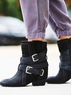 NAYA Harlin Hidden Wedge Boot at Free People Clothing Boutique
