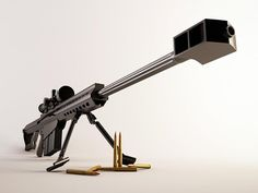 50 caliber sniper rifle. Coolest weapon I ever fired in the military. I mean cooler than the center seed in a cucumber people