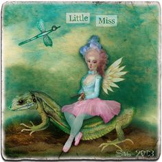 "Digital art by *Silkku* ""Little Miss"" silkkus.blogspot.fi"
