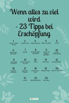 If everything gets too much - 23 tips to help yourself when you are .-Wenn alles zu viel wird – 23 Tipps zur Selbsthilfe bei Erschöpfung If everything gets too much – 23 tips for self-help in the event of exhaustion – fond of running - Yoga Quotes, Life Quotes, Positive Vibes, Positive Quotes, Citations Yoga, Anti Stress, Better Life, Self Improvement, Self Help