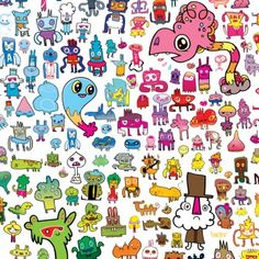 Image result for jon burgerman artwork