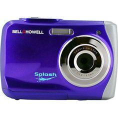 BELL+HOWELL Purple Splash 12.0 Megapixel Underwater Digital and Video
