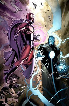Magneto vs The Evolutionary by Angel Medina and Marte Garcia