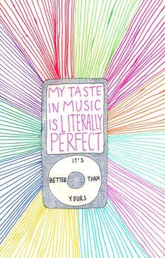I get a little bit of everything :) I Love Music, Music Is Life, Amazing Music, Music Lyrics, Music Quotes, Music Memes, Little Bit, Owl City, Blink 182