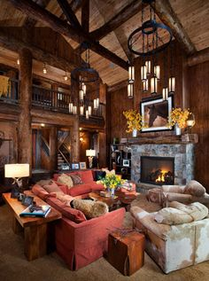 Fireplaces On Pinterest Rustic Fireplaces Stone Fireplaces And Fireplaces