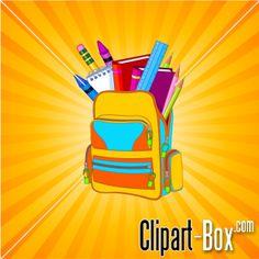 CLIPART SCHOOL BAG
