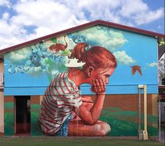 """The Cloud"" by Fintan Magee in Rockhampton, Australia, 3/15 (LP)"