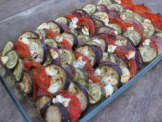 Caprese Salad, Sausage, Vegan, Provence, Food, Eggplant Zucchini, Cooking Recipes, Vegetable Tian, Sausages