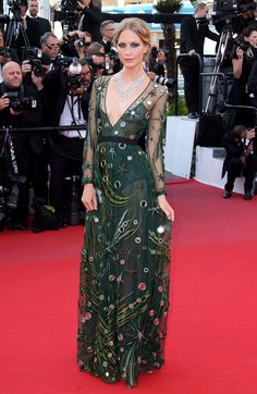 Dressed to Impress at the Cannes Film Festival - Poppy Delevingne-Wmag - Burberry