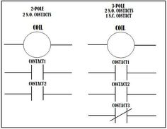 2 pole 8 pin Relay Pinout Diagram in 2020 Electronic