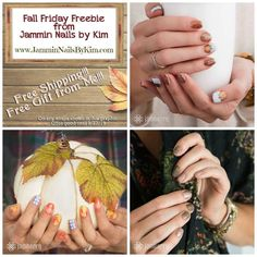 #Jamberry Fall #FridayFreebie #Special - Purchase any wrap on this graphic, get #FREEShipping and a #FREE gift from me. Listed are Maple Sugar, Country Harvest, and Apple Cider #JamberryNails #NailWraps #ManiPedi #Jamicure #Jambicure #Manicure #Pedicure #JamminNailsByKim #NailArt #NailArtAddict #NailSwag #FallNailWraps #FallJamberry #HolidayNailWraps #HolidayJamberry