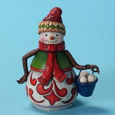 4027715 Pint Sized Snowman with Bucket