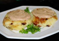 , Recipe For Potato Cakes, Mashed Potatoes, Peanut Sauce, Ecuadorian ...