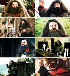 Happy 86th Birthday Rubeus Hagrid. (December 6, 1928) :)