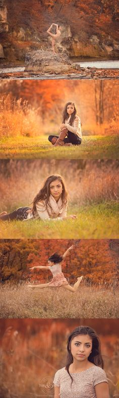 Senior Pictures I'm not a ballerina, but love the colors!