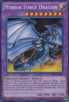 Mirror Force Dragon - Yu-Gi-Oh!