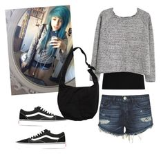 """""""Alex Dorame #3"""" by cbgzajunk ❤ liked on Polyvore featuring Twenty, 3x1, MANGO, Vans and Hot Topic"""