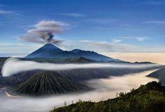 Bromo-vulkaan, Indonesië