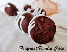 Raw Ginger Brownie Cake Pops from Fragrant Vanilla Cake