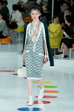Chanel Resort 2016.  See all the best runway looks here: