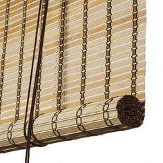 Color & Co - Rullegardin - Brun natur bambus