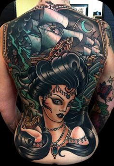 Back Tattoo, New Zealand, by w.t norbert at hunter and fox tattoo in sydney Cool Back Tattoos, Back Tattoos For Guys, Back Tattoo Women, Badass Tattoos, Great Tattoos, Life Tattoos, Body Art Tattoos, Sleeve Tattoos, Tattoos For Women