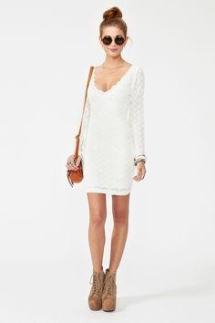 Nastygal | Diamond Lace Dress | Xwalker.com