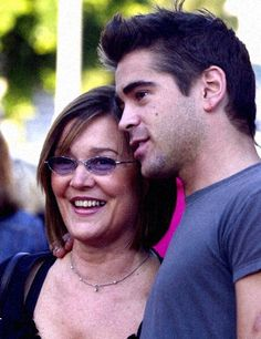 Colin with his mother Rita <3