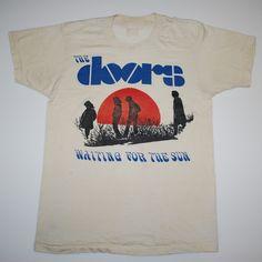 Original 1970s The Doors Waiting For The Sun Shirt