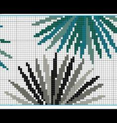 Cross Stitch Boarders, Modern Cross Stitch, Cross Stitch Flowers, Cross Stitching, Cross Stitch Embroidery, Cross Stitch Patterns, Pixel Art Background, Weaving Patterns, Bargello