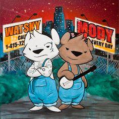 George Watsky hooks up with Kush Mody to produce this classic hip hop bluegrass folkrock album