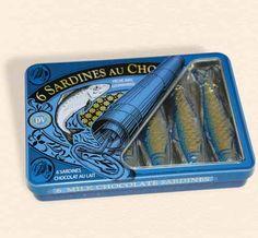 Sardines au chocolat.