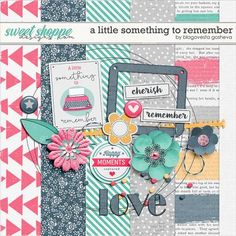 Wednesday's Guest Freebies ~ Sweet Shoppe Designs  ✿ Follow the Free Digital Scrapbook board for daily freebies: https://www.pinterest.com/sherylcsjohnson/free-digital-scrapbook/ ✿ Visit GrannyEnchanted.Com for thousands of digital scrapbook freebies. ✿ A little something to remember by Blagovesta Gosheva