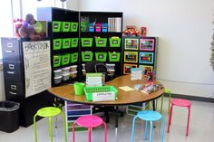 20 inspiring classroom decoration ideas teacher desk organization, organisation name, student work, classroom Classroom Layout, Classroom Setting, Classroom Design, School Classroom, Classroom Themes, Future Classroom, Kindergarten Classroom, 4th Grade Classroom Setup, Ideas For Classroom Decoration