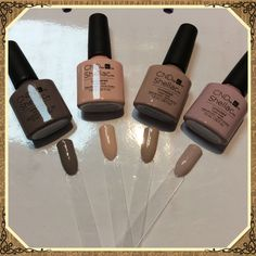 The new Intimates Collection from the CND Shellac range is now in salon