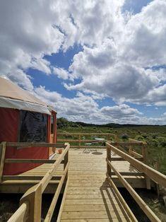 Lakeside luxury yurt glamping on the Wild Atlantic Way, Ireland Luxury Yurt, Yurts, Donegal, North West, Glamping, Acre, Ireland, Cabin, House Styles