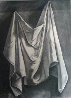 Still Life Fabric Drawing WIP by ~Cynister009 on deviantART