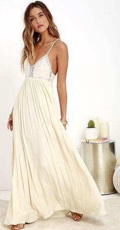 LuLu's cream summer dress