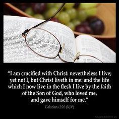 Galatians 2:20 KJV