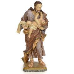 San José con niño 80cm pasta de madera dec. antigua | venta online en HOLYART