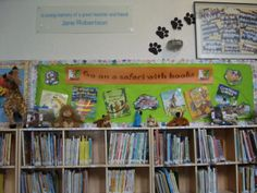 Book Week - Go on a safari with books.
