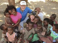 Rolland and Heidi Baker. They have changed the nation of Mozambique. Founders of Iris Ministries.