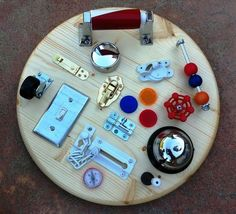 Looking for a weekend project? How about making your little ones a SENSORY BOARD with things you have around home or from the hardware store? It's a great way to expose kids to new objects & experiences which challenge them & allow them to extend their thinking & understanding. Find out more about early brain development & learning: https://secure.zeald.com/under5s/results.html?q=stream+of+new+info