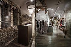 Уникальное оформление бутика Blond в Италии