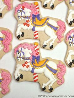 horse themed cookies - Google Search