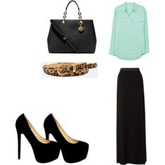 """""""church outfit"""" by jeanbj on Polyvore"""