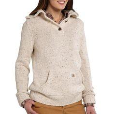 Carhartt 101430 - Carhartt Women's Viola Mock Neck Hooded Sweatshirt at Dungarees